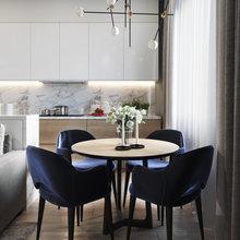 """Фото из портфолио Кухня-гостиная из проекта """"Natural and modern"""" – фотографии дизайна интерьеров на INMYROOM"""