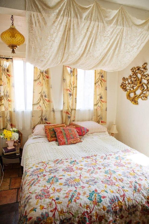 Фотография: Спальня в стиле Прованс и Кантри, Ремонт на практике – фото на InMyRoom.ru