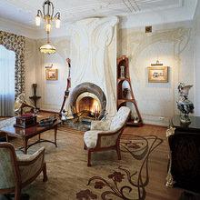 Фотография: Гостиная в стиле Кантри, Дом, Дизайн интерьера, Ар-нуво – фото на InMyRoom.ru
