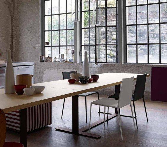 Фотография: Гардеробная в стиле Скандинавский, Квартира, Цвет в интерьере, Дома и квартиры, B&B Italia – фото на InMyRoom.ru