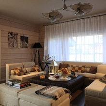 Фотография: Гостиная в стиле Кантри, Дом, Дома и квартиры, Москва – фото на InMyRoom.ru