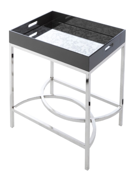 Купить Приставной столик Baron с зеркальной столешницей, inmyroom, Великобритания