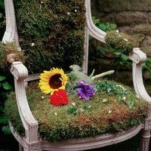 Фотография: Флористика в стиле , Кухня и столовая, Ландшафт, Стиль жизни, Дача, Для дачи и сада – фото на InMyRoom.ru