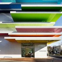 Фотография: Архитектура в стиле , Декор интерьера, Мебель и свет, Декор дома, Цвет в интерьере, Архитектурные объекты – фото на InMyRoom.ru