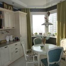 Фото из портфолио Кухня с элементами скандинавского и французского стилей – фотографии дизайна интерьеров на InMyRoom.ru