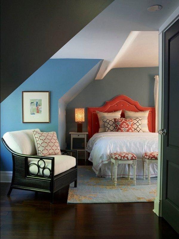 Фотография: Спальня в стиле Прованс и Кантри, Классический, Современный, Чердак, Мансарда – фото на InMyRoom.ru