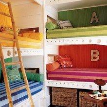 Фотография: Детская в стиле Кантри, Современный, Интерьер комнат, Цвет в интерьере – фото на InMyRoom.ru