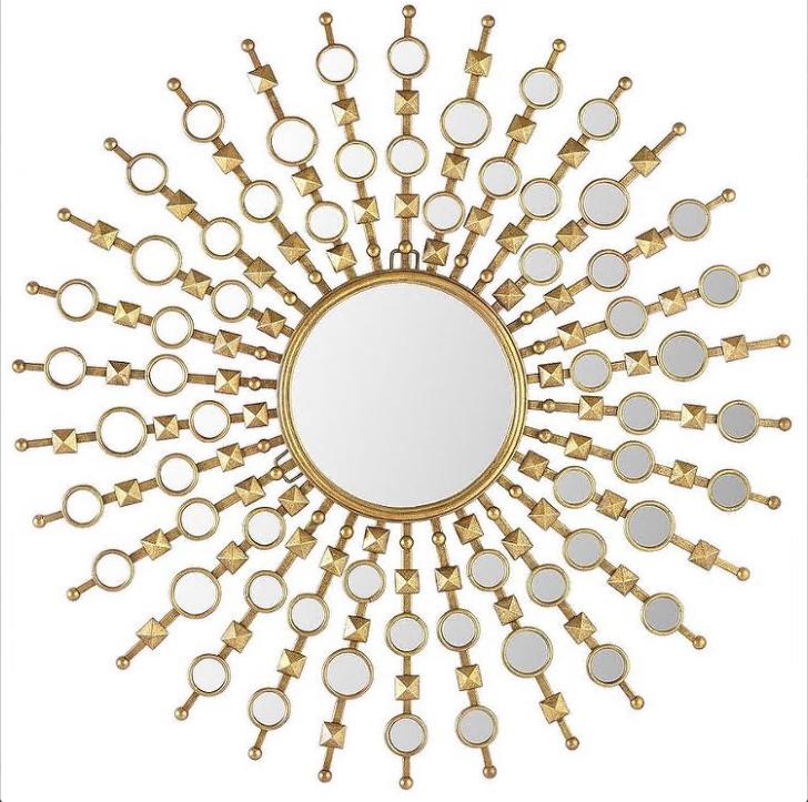 Купить Настенное зеркало Jol в раме из металла, inmyroom, Китай