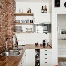 Фотография: Кухня и столовая в стиле Лофт, Современный, Планировки, Советы – фото на InMyRoom.ru
