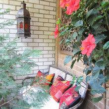 Фотография: Балкон, Терраса в стиле Кантри, Современный, Восточный, Интерьер комнат, специальная тема: балконы – фото на InMyRoom.ru