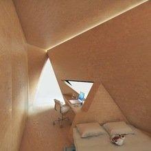 Фотография: Спальня в стиле Эко, Кабинет, Малогабаритная квартира, Офисное пространство, Интерьер комнат – фото на InMyRoom.ru