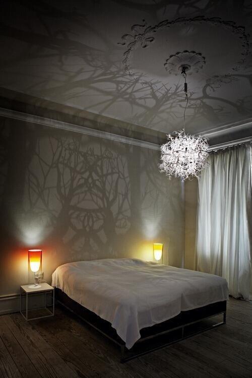 Фотография: Спальня в стиле Скандинавский, Классический, Декор интерьера, DIY, Мебель и свет, Советы, Люстра – фото на InMyRoom.ru