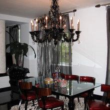 Фотография: Кухня и столовая, Гостиная в стиле Эклектика – фото на InMyRoom.ru