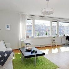 Фотография: Гостиная в стиле Скандинавский, Декор интерьера, Малогабаритная квартира, Квартира, Студия – фото на InMyRoom.ru