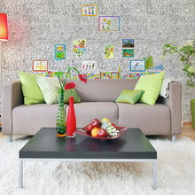 Фото из портфолио Обои-раскраски «Ирина» – фотографии дизайна интерьеров на INMYROOM