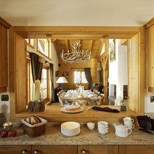 Фотография: Кухня и столовая в стиле Кантри, Дом, Дома и квартиры, Дом на природе – фото на InMyRoom.ru