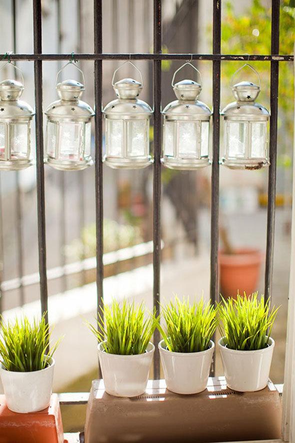 Фотография:  в стиле Современный, Балкон, Интерьер комнат, специальная тема: балконы – фото на InMyRoom.ru