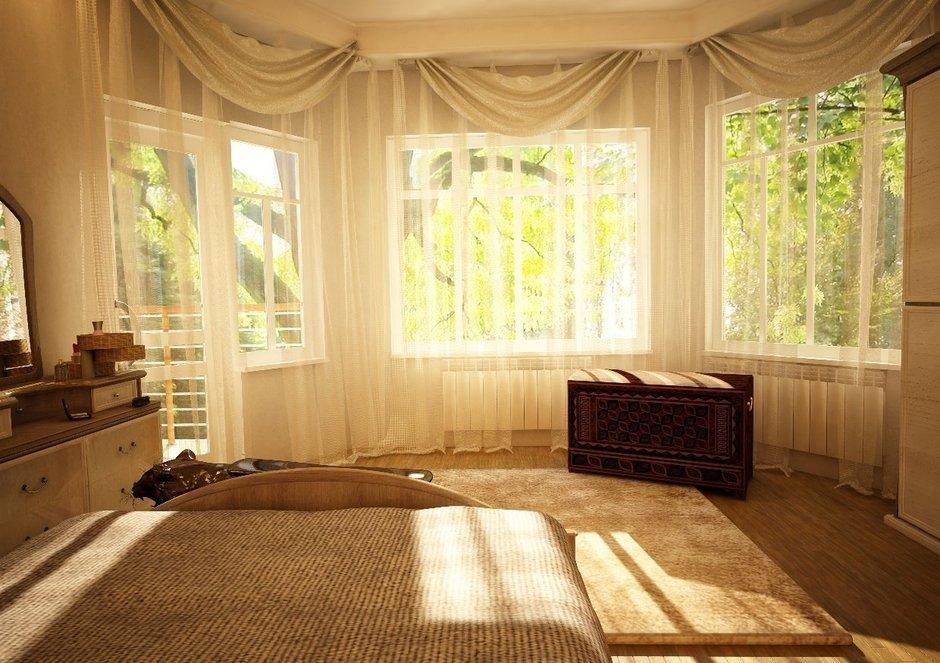 Фотография: Спальня в стиле Современный, Дом, Дома и квартиры, Проект недели, Современное искусство – фото на InMyRoom.ru