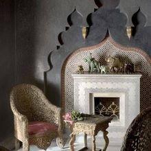 Фотография: Гостиная в стиле Восточный, Декор интерьера, Декор, марроканский стиль в интерьере, марокканский стиль – фото на InMyRoom.ru
