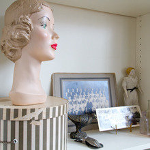 Фотография: Декор в стиле Кантри, Кабинет, Квартира, Интерьер комнат, Лос-Анджелес – фото на InMyRoom.ru