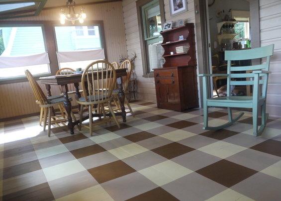 Фотография: Кухня и столовая в стиле Прованс и Кантри, Декор интерьера, Декор дома, Прованс, Пол – фото на InMyRoom.ru