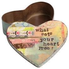 Декоративная коробка Heart