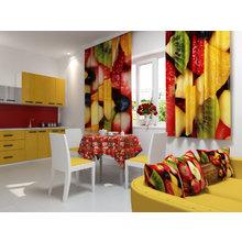 Кухонная скатерть: Цветочный край