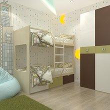 Фото из портфолио Детская для братика и сестренки – фотографии дизайна интерьеров на InMyRoom.ru