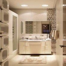 Фото из портфолио Новый Арбат - резиденция света и воздуха – фотографии дизайна интерьеров на InMyRoom.ru