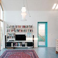 Фотография: Гостиная в стиле Лофт, Декор интерьера, Дом, Мебель и свет, Минимализм – фото на InMyRoom.ru