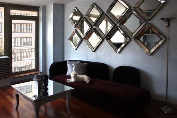 Фотография: Прихожая в стиле Лофт, Современный, Декор интерьера, Декор дома, Зеркало – фото на InMyRoom.ru