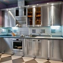 Фото из портфолио Кухни из нержавеющей стали INDOOR – фотографии дизайна интерьеров на InMyRoom.ru