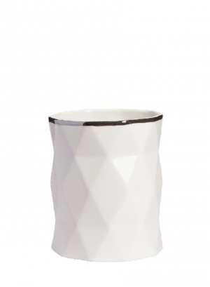 Фото #1: Декоративная ваза Allure Silver High