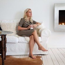 Фотография: Гостиная в стиле Кантри, Классический, Скандинавский, Современный – фото на InMyRoom.ru
