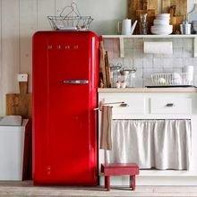Фотография: Кухня и столовая в стиле Кантри, Советы, Красный, Виктория Тарасова – фото на InMyRoom.ru
