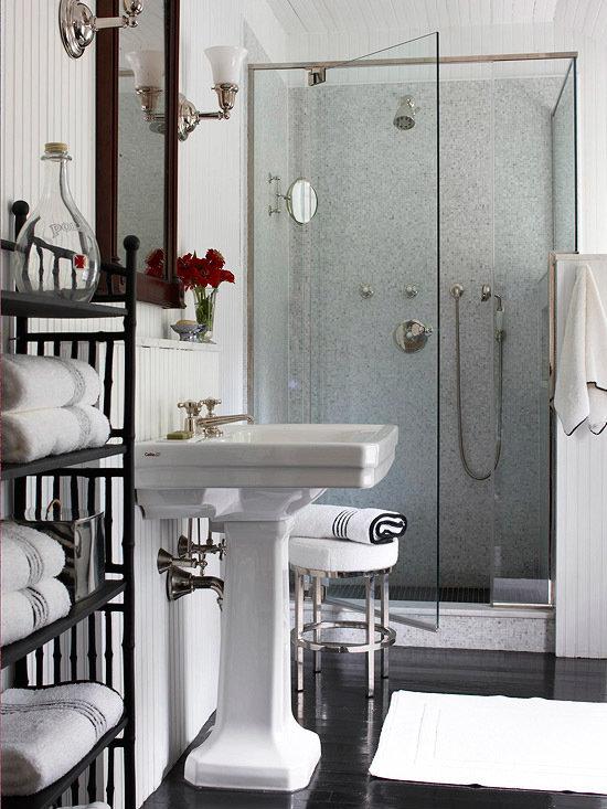 Фотография: Ванная в стиле Эклектика, Интерьер комнат – фото на InMyRoom.ru