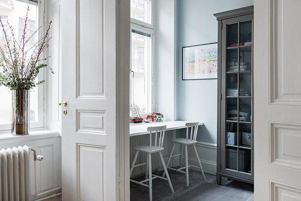 Фотография: Кухня и столовая в стиле Скандинавский, Декор интерьера, Квартира, Швеция, 3 комнаты, 60-90 метров – фото на InMyRoom.ru