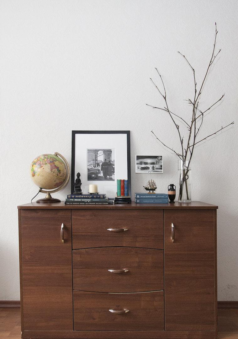 Фотография:  в стиле , Скандинавский, Квартира, IKEA, Проект недели, Москва, Dulux, Анна Ковальченко – фото на InMyRoom.ru