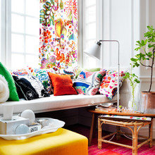 Фотография: Гостиная в стиле Кантри, Декор интерьера, Дизайн интерьера, Цвет в интерьере – фото на InMyRoom.ru