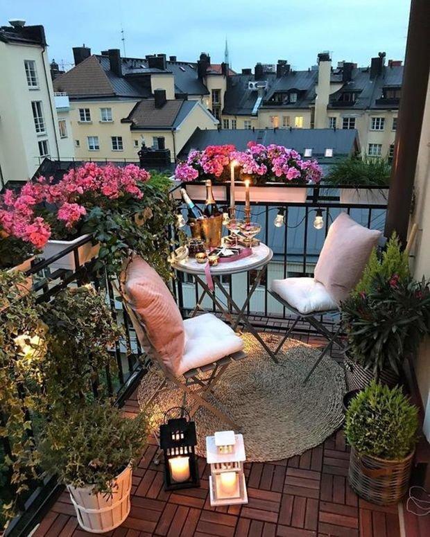 Фотография: Балкон в стиле Скандинавский, Гид, как обустроить открытый балкон, открытый балкон, идеи для открытого балкона, как обустроить балкон, балкон в квартире – фото на INMYROOM
