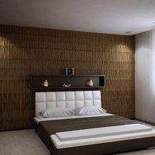 Фотография: Спальня в стиле Современный, Эклектика, Квартира, Дома и квартиры, Минимализм – фото на InMyRoom.ru