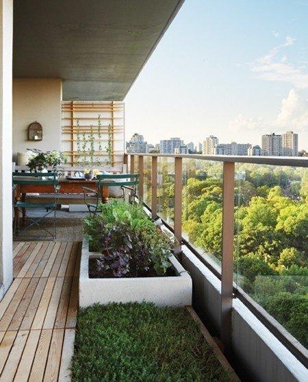 Фотография: Балкон, Терраса в стиле Современный, Интерьер комнат, специальная тема: балконы – фото на InMyRoom.ru