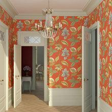 Фото из портфолио Оранжевое солнце – фотографии дизайна интерьеров на InMyRoom.ru