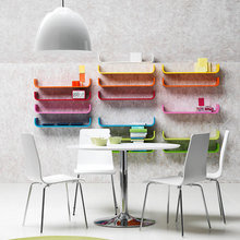 Фотография: Кухня и столовая в стиле Хай-тек, Декор интерьера, Дизайн интерьера, Цвет в интерьере – фото на InMyRoom.ru