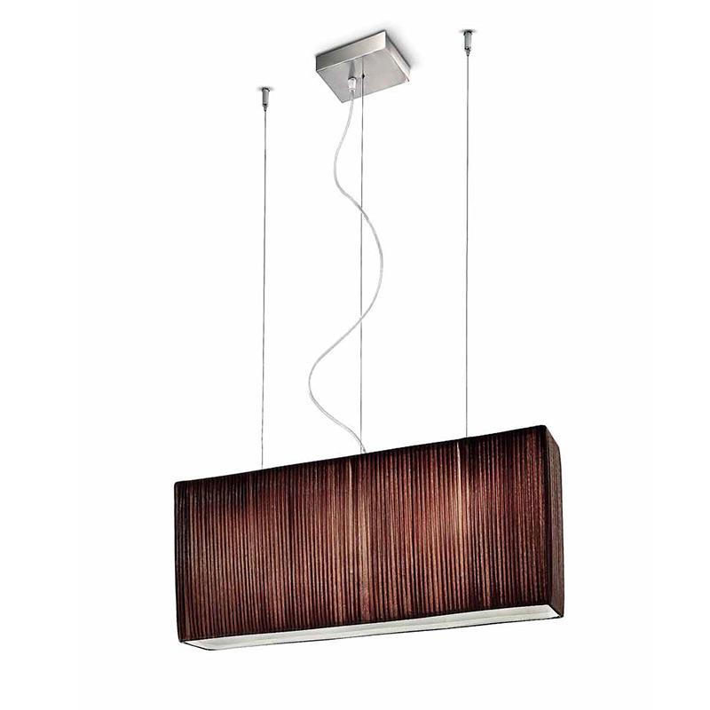 Купить Подвесной светильник Leucos Vanity с плафоном из плиссированной ткани, inmyroom, Италия