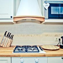 Фотография: Кухня и столовая в стиле Скандинавский, Квартира, Дома и квартиры, Ремонт – фото на InMyRoom.ru