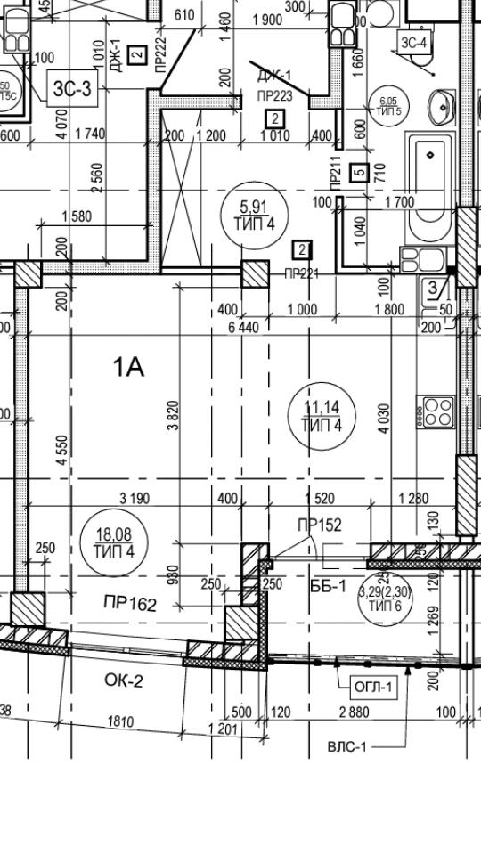Студия для семьи из двух человек.Помогите с определением места для кровати и с расстановкой мебели