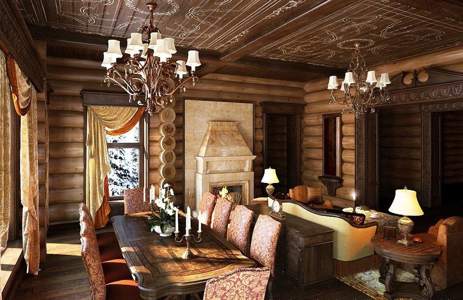 Фотография: Кухня и столовая в стиле , Гостиная, Интерьер комнат – фото на InMyRoom.ru