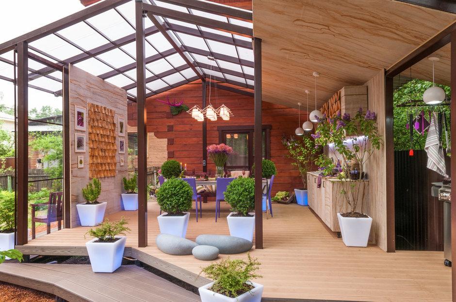 Фотография: Балкон, Терраса в стиле Современный, Дом, Дома и квартиры – фото на InMyRoom.ru