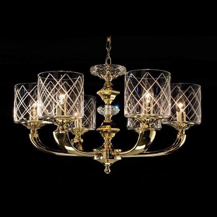 Подвесная люстра Citilux Spirito Oro в классическом стиле